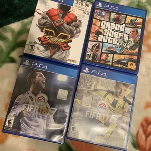 Playstation 4 Games for Sale in San Jose, CA