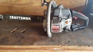 Craftsman chainsaw for Sale in Cleveland, OH