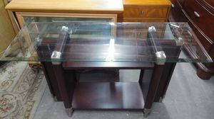 Glass TV Stand for Sale in Fort Lauderdale, FL