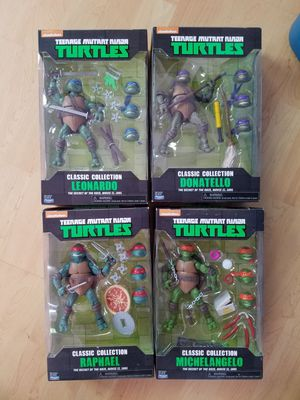 Ninja turtle set for Sale in Kent, WA