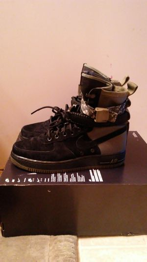 Nike SF Air Force 1 black and olive size 9 and 11 for Sale in San Leandro, CA