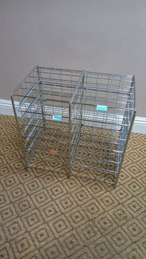 Metal rack file holder shelve for Sale in Glendora, CA