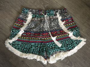 Anthropologie Lilka Fringe Shorts, Medium New with Tags for Sale in Livermore, CA