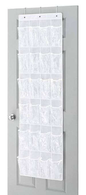 Closet Shoe Organizer Space Saving Storage Pockets Door Hanging for Sale in Santa Fe, NM