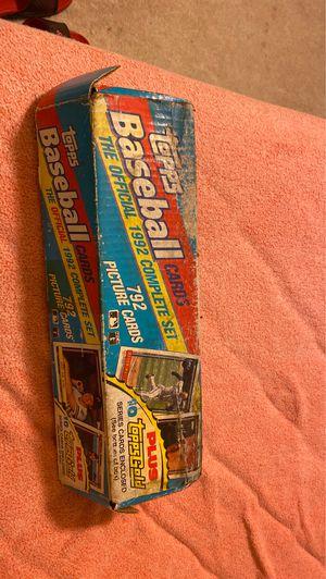 Baseball cards official 1992 set for Sale in Manassas, VA