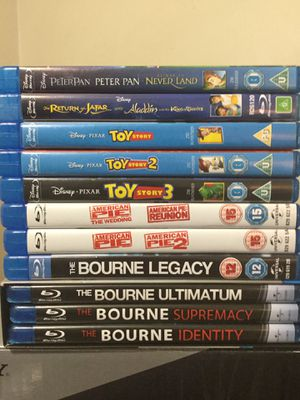 15 blu ray pack!! Mint condition for Sale in Carson, CA