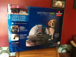 New Bissell SpotBot Pet Carpet Cleaner for Sale in Waldo, OH