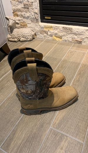Men's 8.5 Red Wing Irish Setter Work / Hunting boots for Sale in Cypress, TX