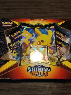 Pikahcu V collection Shining Fates for Sale in Waco,  TX