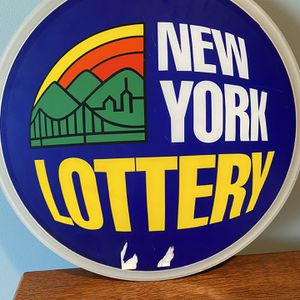 New York Lottery Neon Sign for Sale in Brooklyn, NY