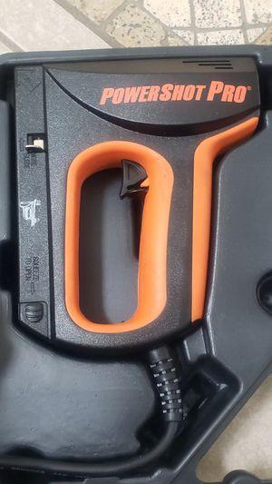 Arrow PowerShot Pro Electric Staple & Nail Gun for Sale in Orlando, FL
