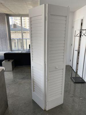 17 3/4 Inch by 79 Inch Louver/Louver Interior Slab Closet Door for Sale in Miami, FL