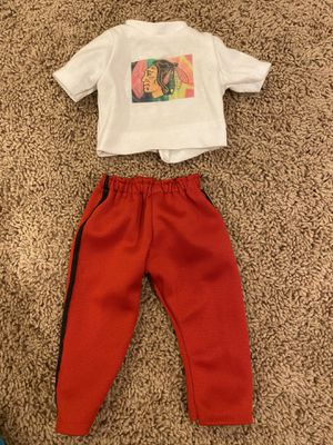 Chicago Blackhawks Doll Outfit for Sale in Oswego, IL