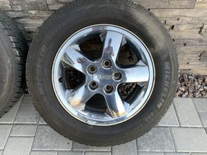 Jeep Grand Cherokee WJ Rims and Tires Wheels for Sale in Goodyear, AZ