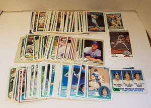 120 + misc DODGERS baseball cards lot for Sale in Artesia, CA