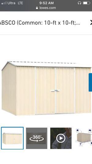 "10'x10' storage shed ""premier for Sale in Anaheim, CA"