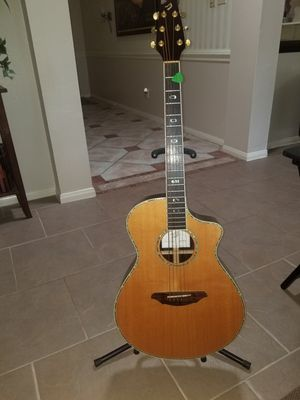 Breed love Atlas acoustic electric with Fishman pickup for Sale in Atascocita, TX
