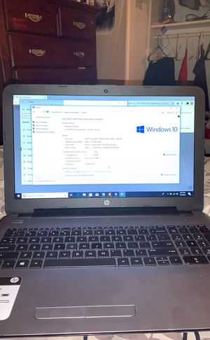 Hp notebook with newest adobe premiere for Sale in Perris, CA