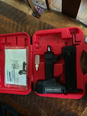 Craftsman brad nailer. 18 gauge for Sale in Des Moines, WA