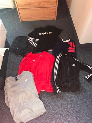 CLOTHES HAUL!! ( Adidas, Nike,Fila,Bebe) for Sale in San Diego, CA