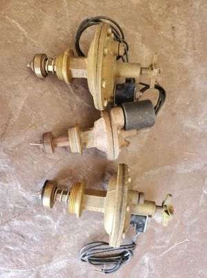 Sprinkler valves Brass 3 total for Sale in Las Vegas, NV