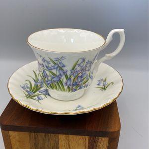Royal Albert Blue Floral Teacup for Sale in Huntington Beach, CA