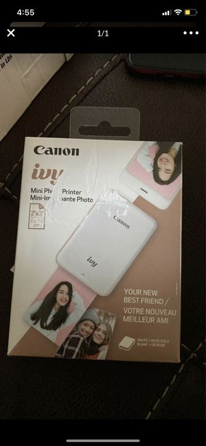 mini photo printer canon for Sale in Chula Vista, CA