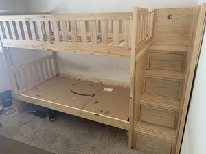 Twin size bunk bed for Sale in Daly City, CA