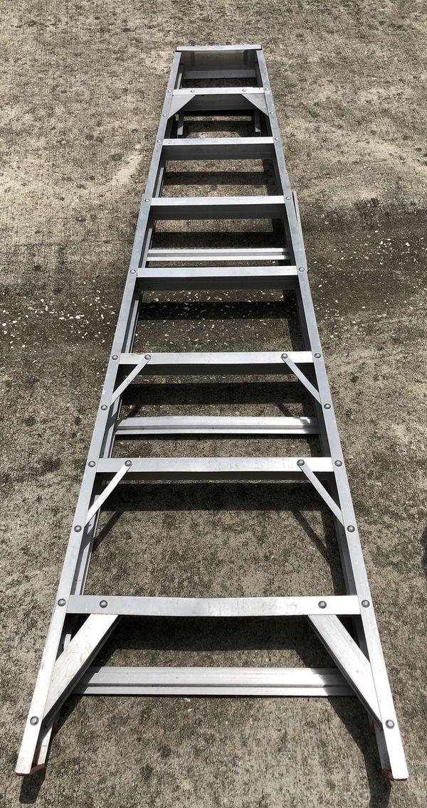 8 ft aluminum A-type ladder