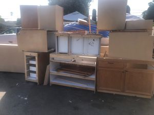 Complete set of kitchen cabinets for Sale in Chula Vista, CA