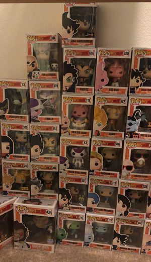 Dragon ball z lot funko pops for Sale in San Jose, CA