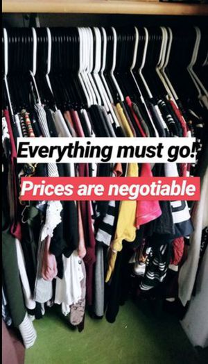Clothes & ect. for sale! for Sale in Goodyear, AZ