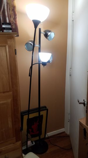 tall light stand fixture for Sale in Houston, TX