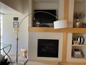 Glam arched accent lamp for Sale in Denver, CO
