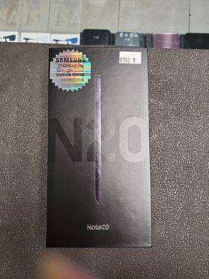 Samsung galaxy note 20 black 256gb unlock for Sale in Brooklyn, NY