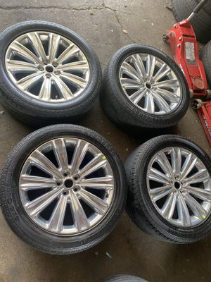 FORD EXPLORER RIMS 20inch for Sale in Burbank, IL