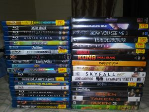 37 bluray and dvd bundle for Sale in Phoenix, AZ