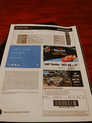 Ticket for. Lizzo concert ticket only one for Sale in Modesto, CA