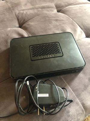 Netgear router and modem for Sale in La Mesa, CA