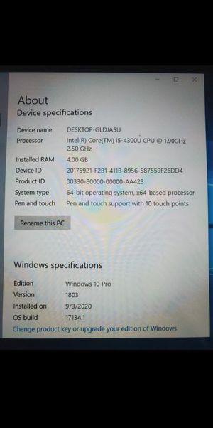 Microsoft Surface Pro 2 64GB Dark Titanium for Sale in San Diego, CA
