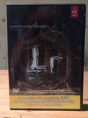 Adobe Photoshop Lightroom 5 for Sale in Ocala, FL