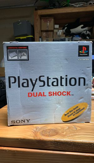 PlayStation one complete in box for Sale in Glendale, AZ