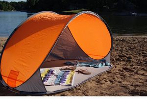 Orange pop-up beach shelter for Sale in Farmers Branch, TX
