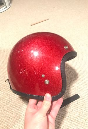 Vintage Motorcycle Helmet for Sale in Seattle, WA