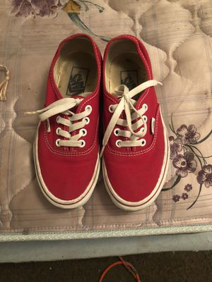 Red Vans Shoes for Sale in Fresno, CA