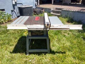 Delta Contractor Table Saw w/ Biesemeyer Fence for Sale in San Bernardino, CA
