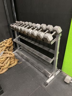 Dumbbell Rack (dumbbells not included) for Sale in Kent, WA