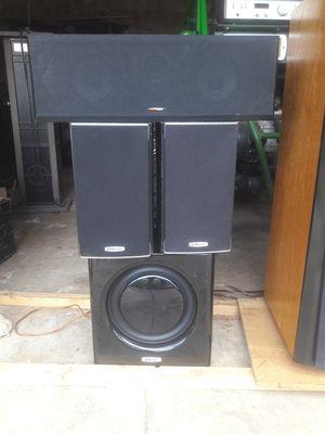 POLK AUDIO SURROUND SOUND SYSTEM for Sale in San Diego, CA