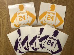 RIP Kobe Bryant Tribute / Vinyl Decal Sticker / car truck window windshield laptop hydroflask for Sale in Las Vegas, NV