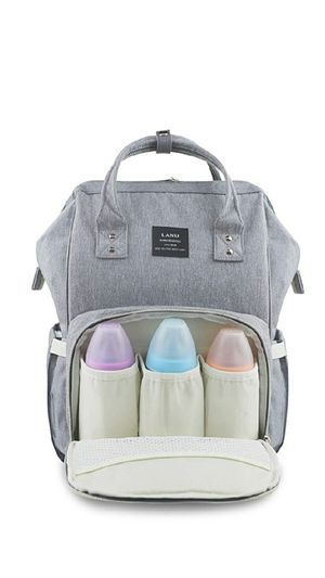 Light grey large diaper bag for Sale in Bell Gardens, CA